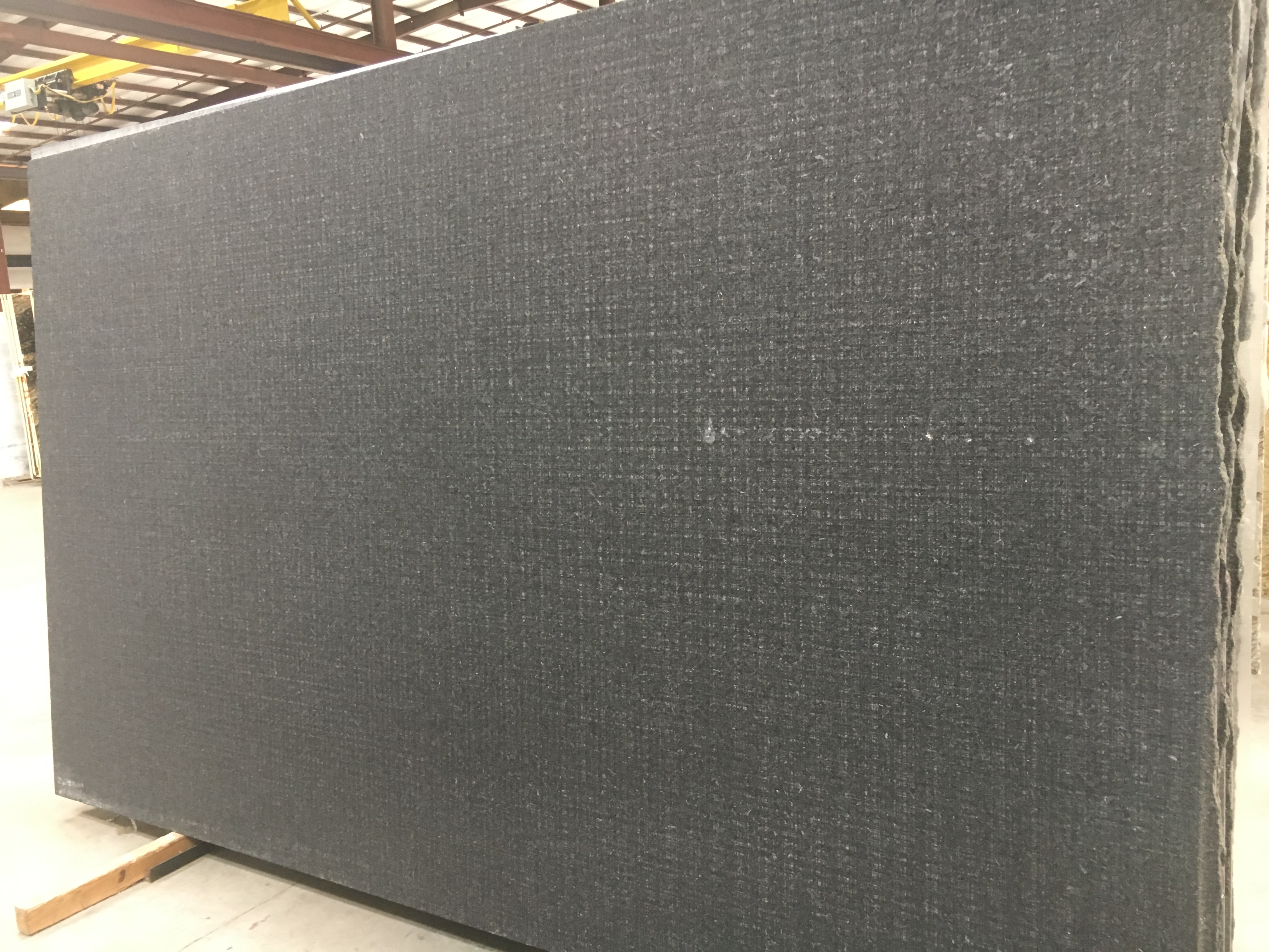 "Product Name: CAMBRIAN BLACK HASHTAG 3CM   Lot #: POLY4706    Avg. size: 126.5"" X 76"""