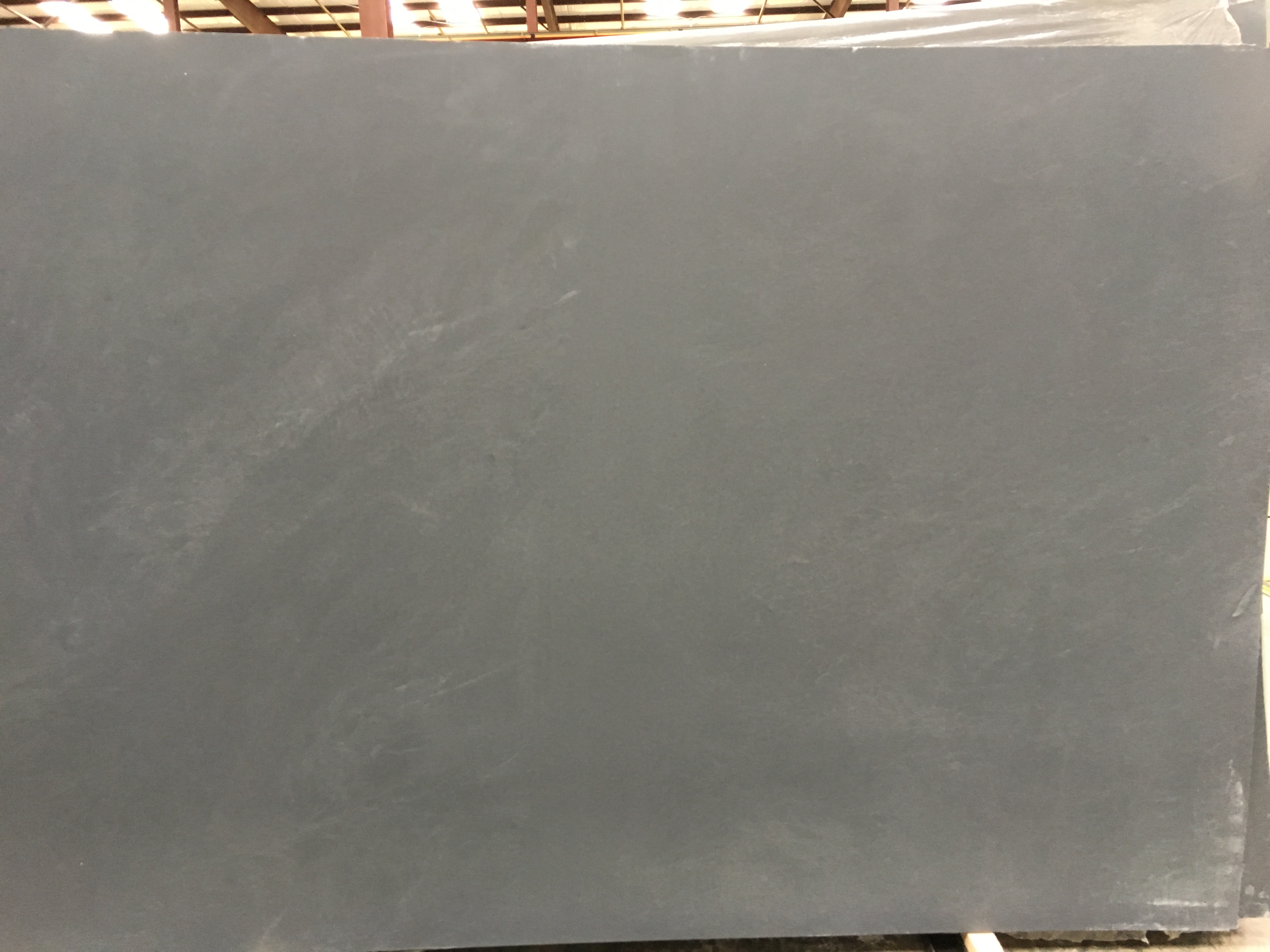 "Product Name: BLACK SMOKE LEATHER FF 3CM   Lot #: MARM9918    Avg. size: 116"" X 74"""