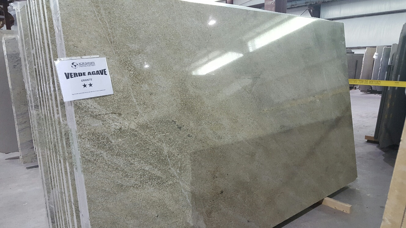 "Product Name: VERDE AGAVE 3CM   Lot #: TAB230    Avg. size: 124.5"" X 75"""