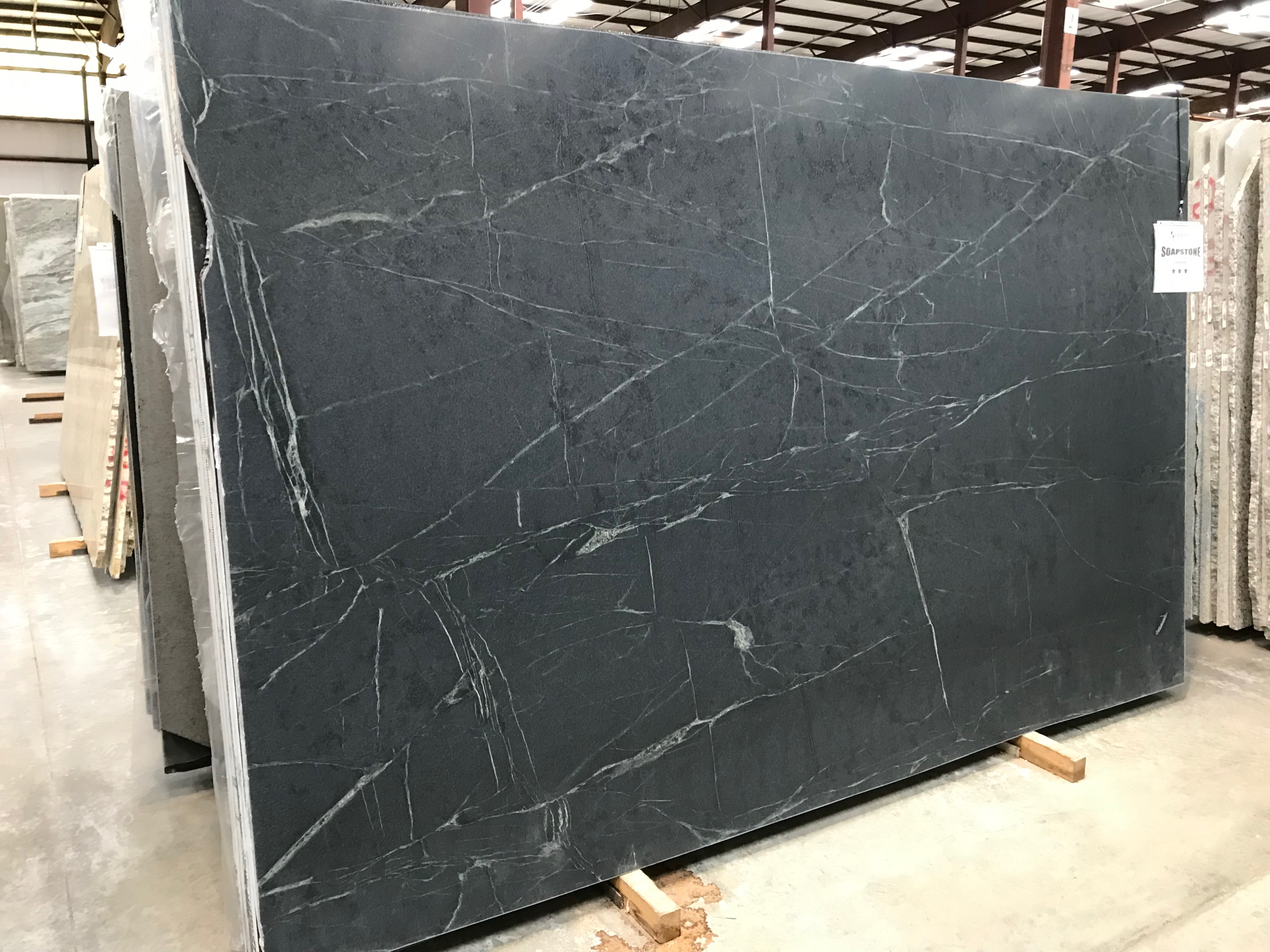 "Product Name: SOAPSTONE 3CM   Lot #: PEDR2801    Avg. size: 122"" X 76.5"""