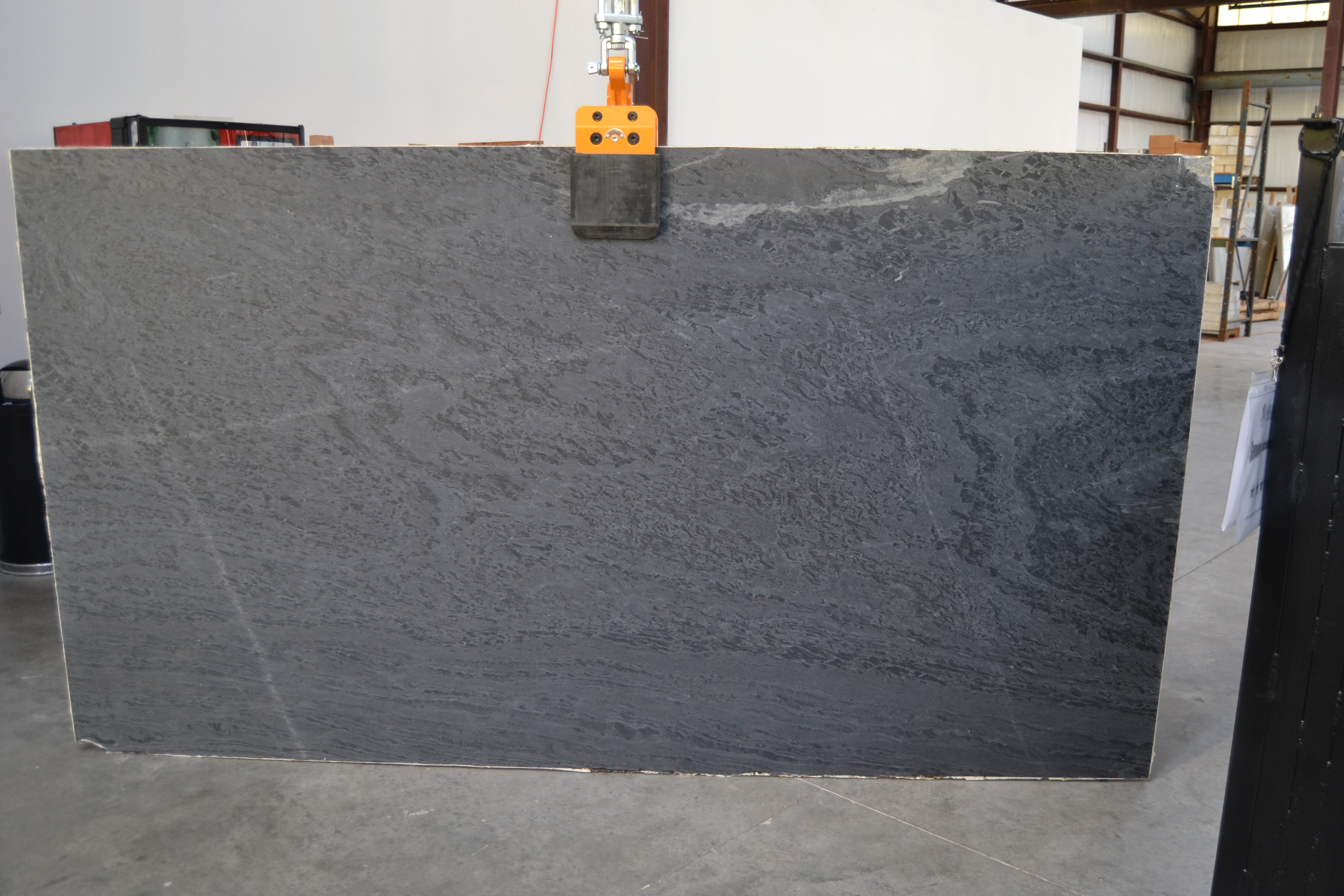 "Product Name: SOAPSTONE WAVE 3CM   Lot #: TAB4140    Avg. size: 117"" X 64"""