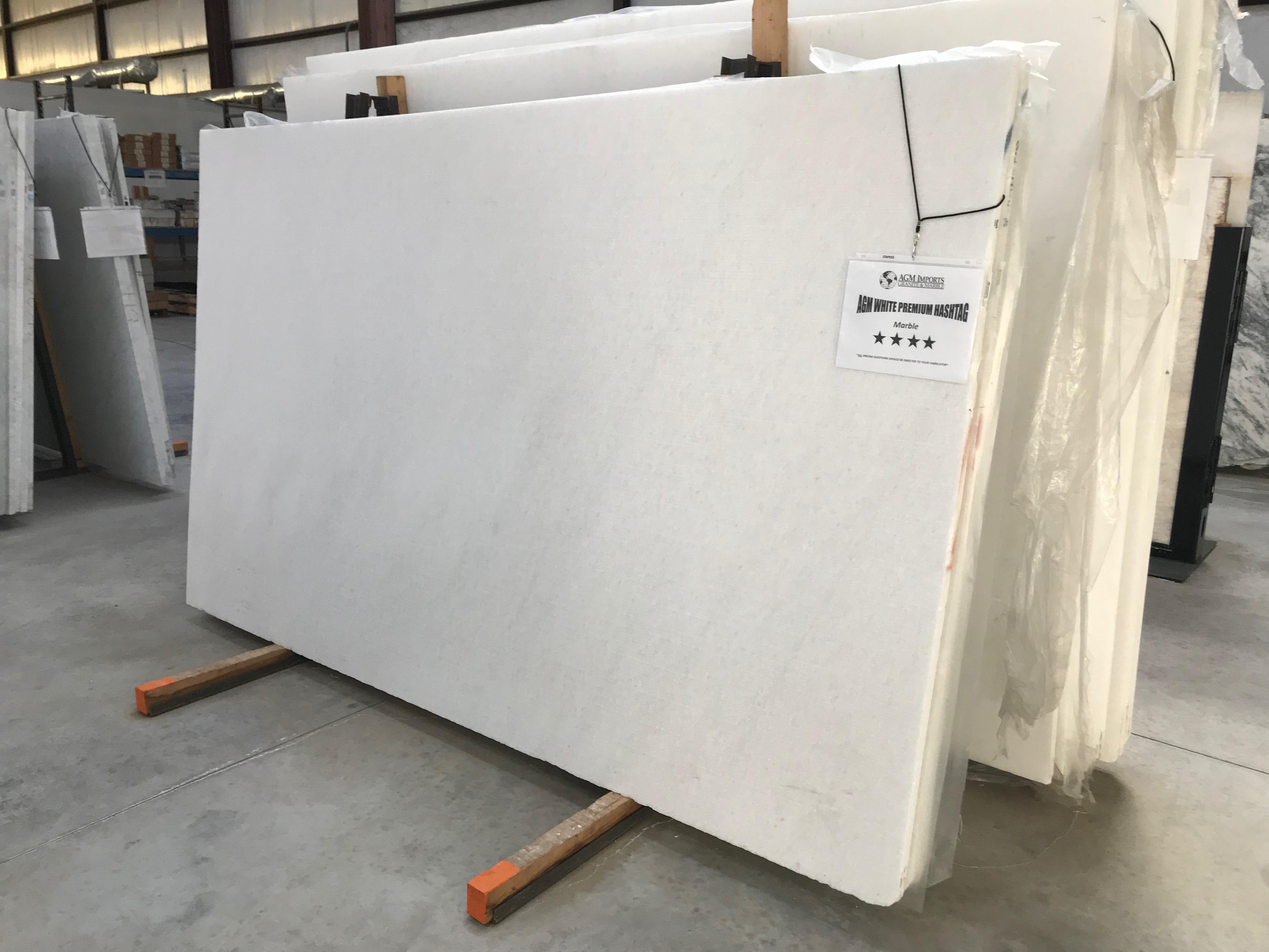 "Product Name: AGM WHITE PREMIUM HASHTAG 3CMLot #: MARM3489 Avg. size: 108"" X 65"""