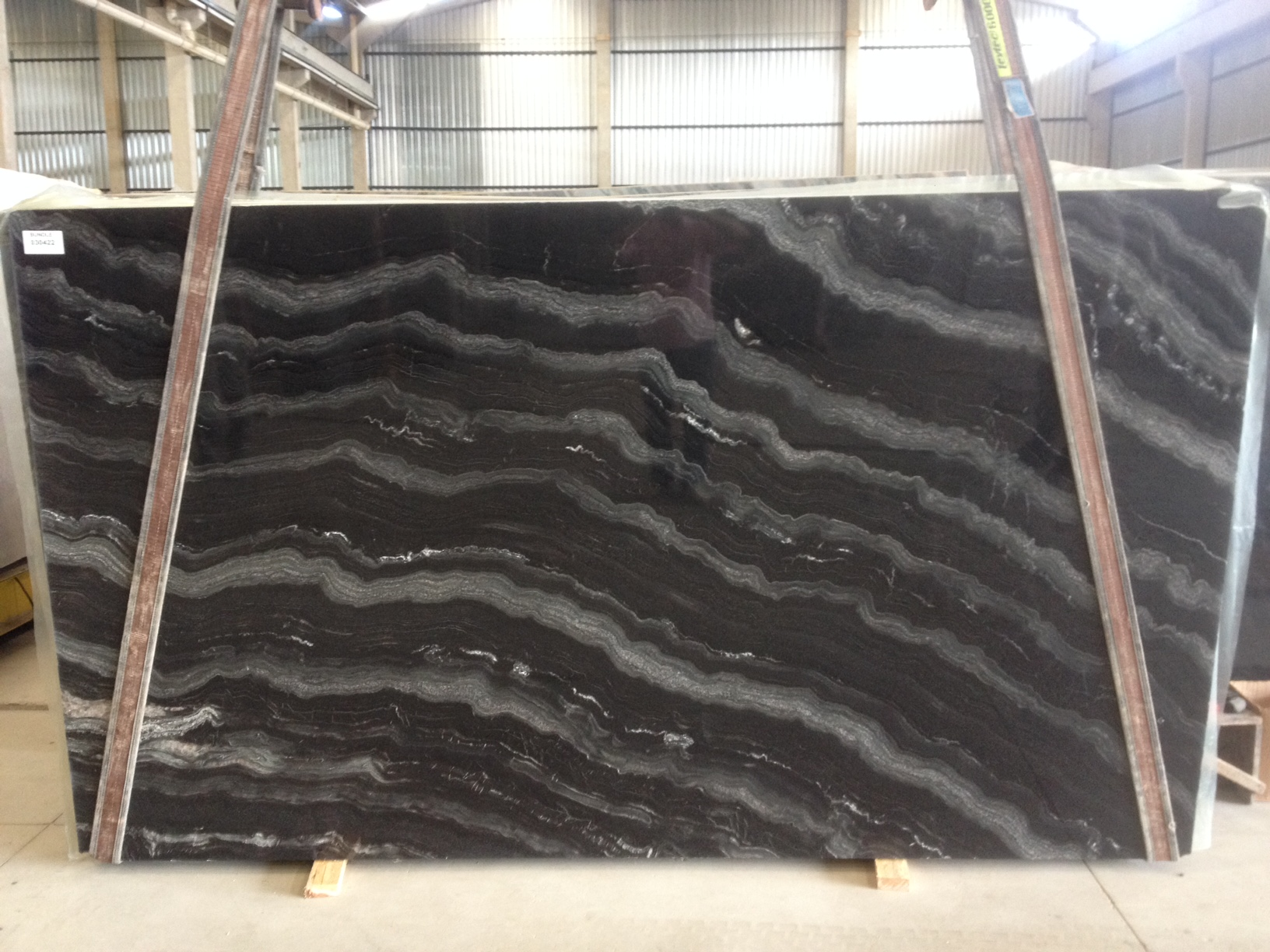 "Product Name: AGATA QUARTZITE 3CM   Lot #: GRAN6347    Avg. size: 129"" X 74"""