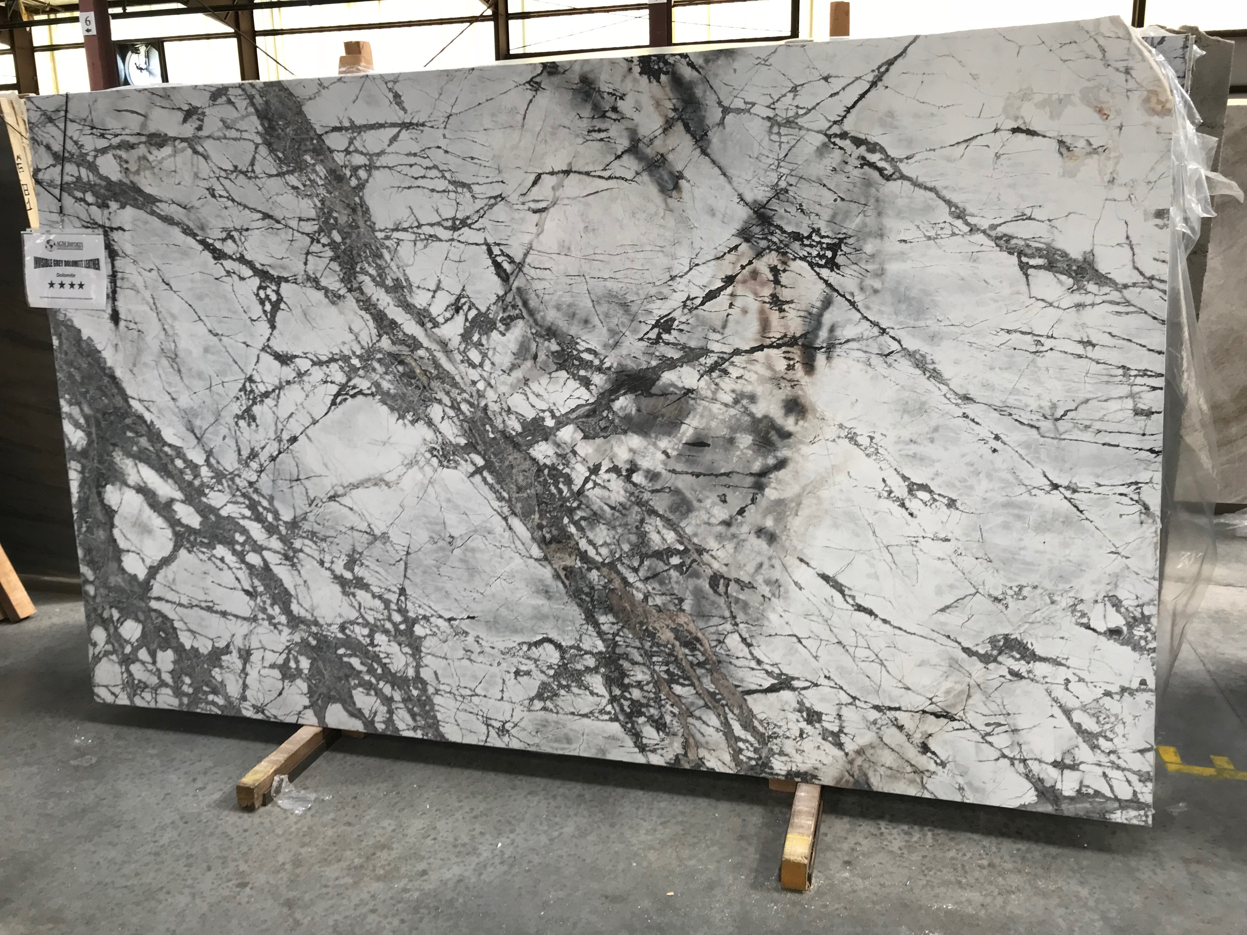 """Product Name: INVISIBLE GREY DOLOMITE 3CMLot #: LUC443 Avg. size: 118"""" X 69"""""""