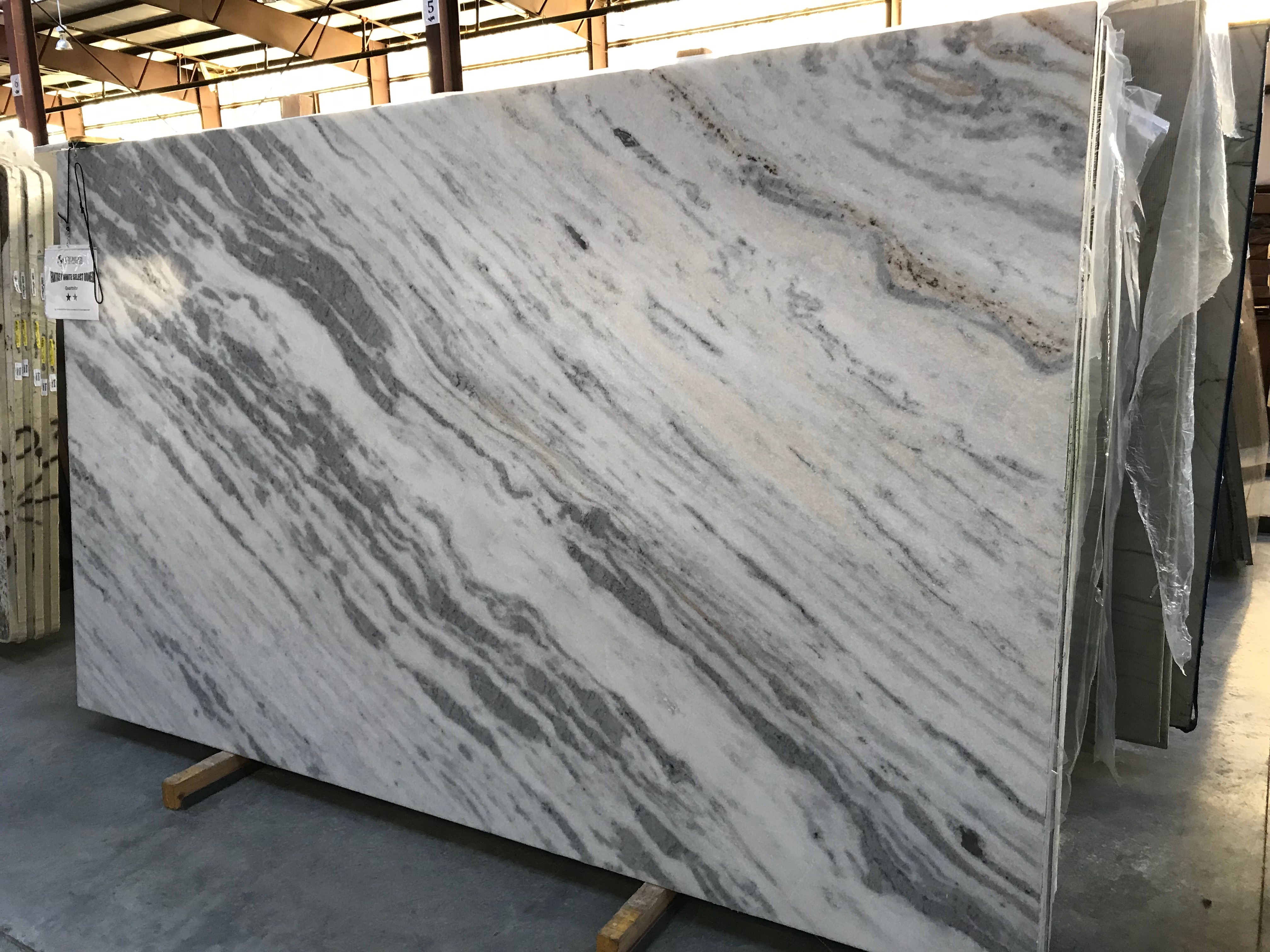 """Product Name: FANTASY WHITE SELECT HONED FF 3CMLot #: TAB4306 Avg. size: 118"""" X 70"""""""