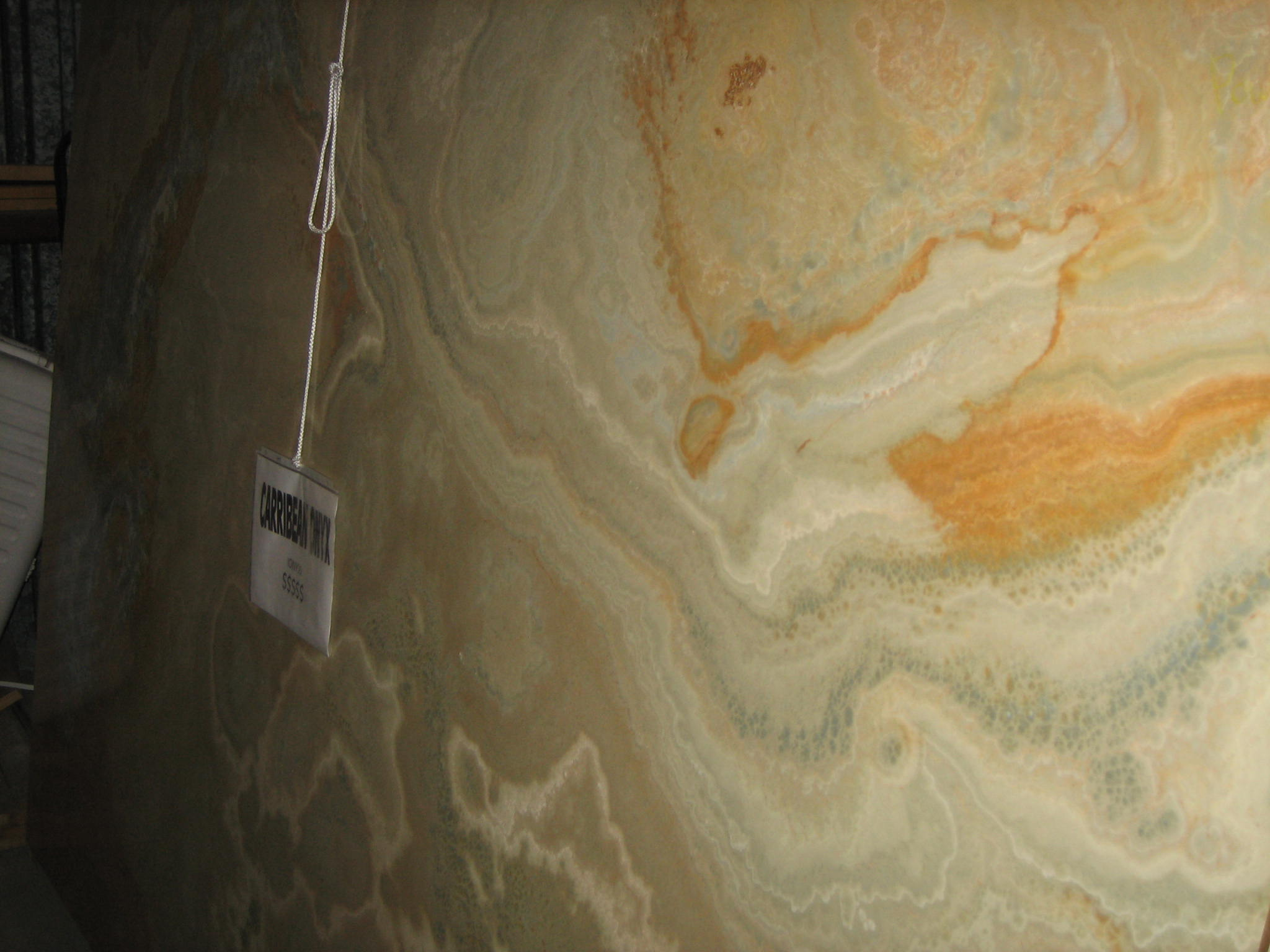 "Product Name: CARIBBEAN ONYX 2CM   Lot #: LB221/06    Avg. size: 112"" X 71"""